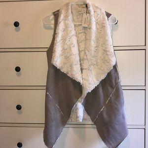 NWT cozy vest